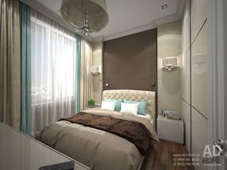 Дизайн интерьера в новостройке , 55 кв. м в ЖК Мос-Анжелес: Спальни в . Автор – Ad-home
