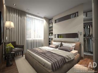 modern Bedroom by Ad-home