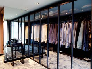 K.Ç EVİ Modern Giyinme Odası Kerim Çarmıklı İç Mimarlık Modern