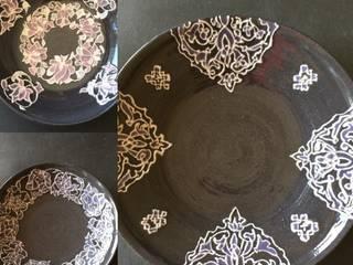 レースの器: 陶芸工房ラ・プエルタ が手掛けた現代のです。,モダン