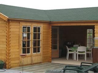 Large l shape Garden Building Cotswold Garden Buildings Spa Wood