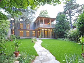 Orangerie Moderner Balkon, Veranda & Terrasse von Architekten+Lichtplaner Modern