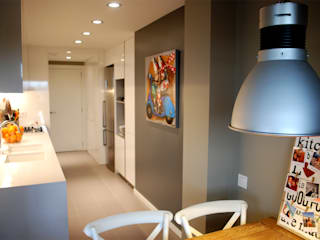 Iluminación interior: cocina Cocinas de estilo moderno de OutSide Tech Light Moderno