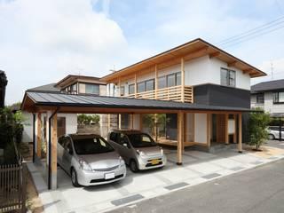 โรงรถและหลังคากันแดด โดย 三宅和彦/ミヤケ設計事務所, คันทรี่