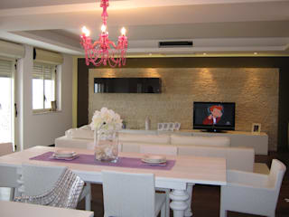 Giuseppe Rappa & Angelo M. Castiglione Modern living room Wood White