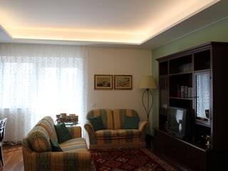 Salones de estilo clásico de Giuseppe Rappa & Angelo M. Castiglione Clásico