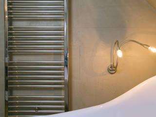 Betonoptik ,Fugenlose Wände : moderne Badezimmer von Ulrich holz -Baddesign