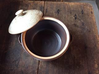 鉄釉土鍋2: うつわと手仕事の店 研が手掛けた折衷的なです。,オリジナル
