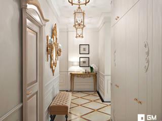 Couloir, entrée, escaliers classiques par GM-interior Classique