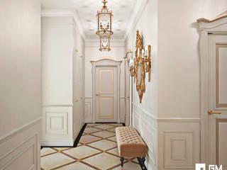 Pasillos, vestíbulos y escaleras clásicas de GM-interior Clásico