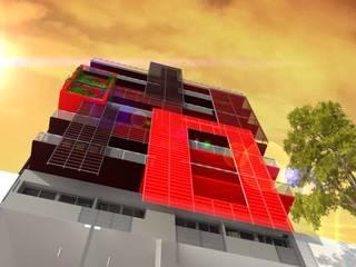 Alsina altos: Casas de estilo  por Arq. Jose F. Correa Correa