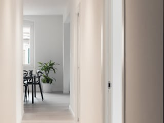 UNO8A Modern corridor, hallway & stairs