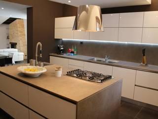 Giuseppe Rappa & Angelo M. Castiglione ห้องครัว เซรามิค Brown