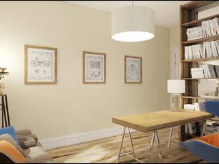 Estudios y despachos de estilo industrial de Alexander Krivov Industrial