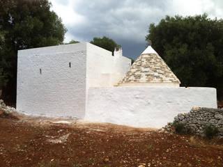 trullo + lamia in campagna Case in stile minimalista di gabriele pimpini architetto Minimalista