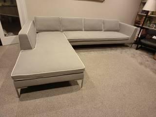 (株)工房スタンリーズ Living roomSofas & armchairs Natural Fibre Grey