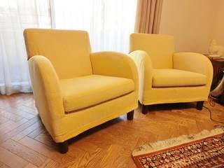 (株)工房スタンリーズ Living roomSofas & armchairs Natural Fibre Yellow