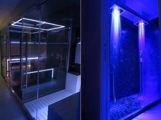 Spa in Villa Privata Spa moderna di Fabio Valente Studio di architettura e urbanistica Moderno