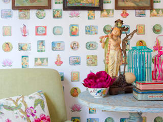 Eclectic style dining room by Bloompapers Eclectic