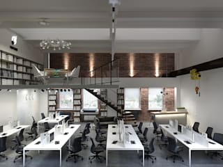 Studio 25 Industrial style office buildings