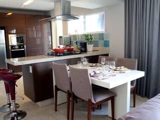 APARTAMENTO RMP Salas de jantar modernas por TAED ARQUITETURA Moderno