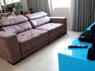 APARTAMENTO RMP Salas de estar modernas por TAED ARQUITETURA Moderno