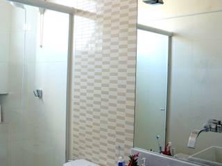 APARTAMENTO RMP Banheiros modernos por TAED ARQUITETURA Moderno