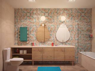 Casas de banho modernas por Tatyana Pichugina Design Moderno