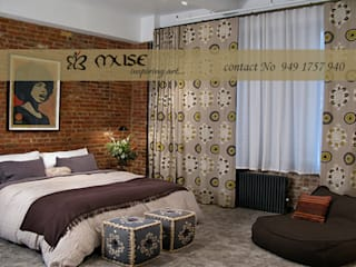 Residential pProjects:  Bedroom by Muse Interiors