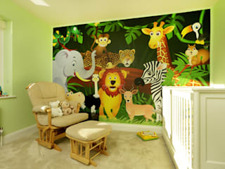 The Ridgeway Civic Design + Build Modern nursery/kids room