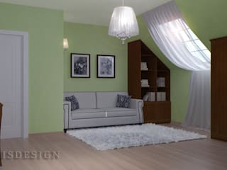 ISDesign group s.r.o. Chambre classique Vert