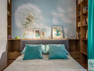 Projekt mieszkania o pow. 66 m2.: styl , w kategorii Sypialnia zaprojektowany przez 4ma projekt