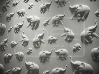 3D Decorative Panel - Loft System Design - model Jungle Loft Design System Walls & flooringWall tattoos
