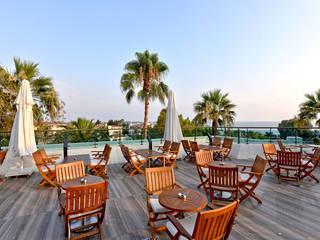 Side Star Elegance Hotel Akdeniz Balkon, Veranda & Teras Nota Tasarım Peyzaj Mimarlığı Ofisi Akdeniz