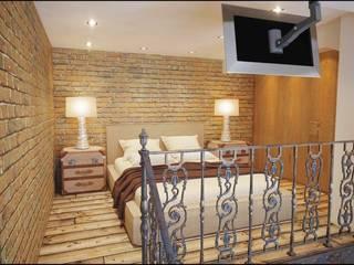 Dormitorios de estilo industrial de Alexander Krivov Industrial