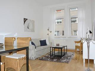 Wohnzimmer nachher:   von HomeStaging Gaby Brann