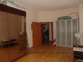 Wohnzimmer vorher:   von HomeStaging Gaby Brann