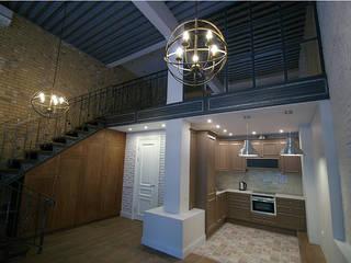 Cocinas de estilo industrial de Alexander Krivov Industrial