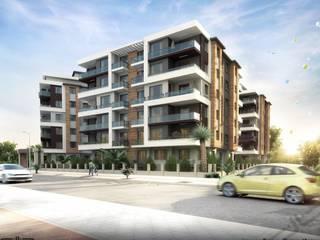 db dizayn – İzmir/güngör inşaat: modern tarz , Modern