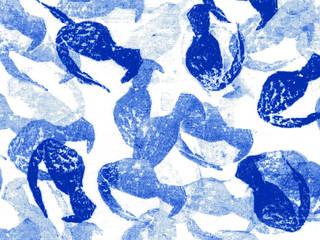 Studio Rafaële Rohn - Motif Blue Print:  de style  par Studio Rafaële Rohn