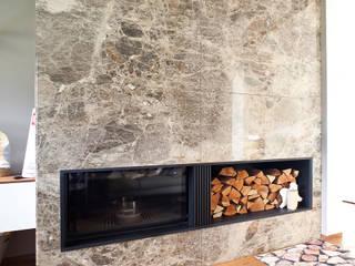 Marmor Radermacher Comedores de estilo moderno Mármol Beige