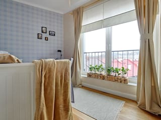 DreamHouse.info.pl Scandinavian style bedroom