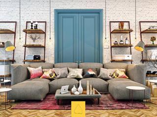 Modern living room by Penintdesign İç Mimarlık Modern