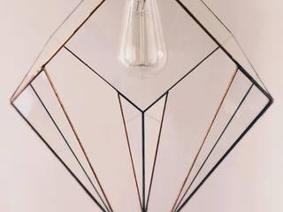 Luminaire géométrique. Geometric light. par Alexa Workshop Industriel