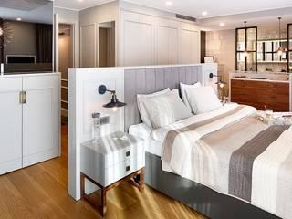CE HOUSE Modern style bedroom by Esra Kazmirci Mimarlik Modern