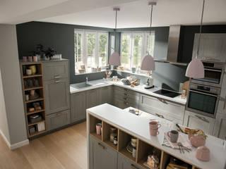Nhà bếp phong cách đồng quê bởi Schmidt Küchen Đồng quê