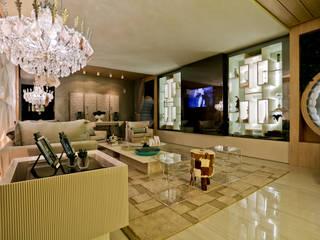 INTIMATE LIVING FOR US:   por maison arquitetura + interiores,Moderno