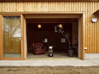 井上貴詞建築設計事務所 Minimal style window and door