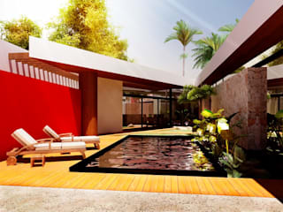 Patios & Decks by Esquiliano Arqs, Modern