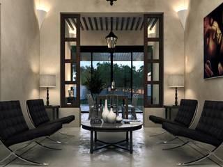 Phòng khách theo Esquiliano Arqs, Thực dân